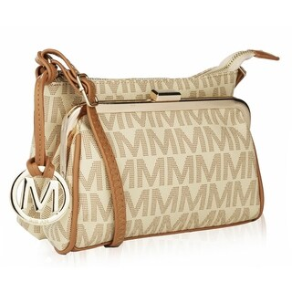 M Collection by Mia K Farrow Caylee Signature Crossbody