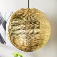 16-inch Globe Sparkle Pendant Light