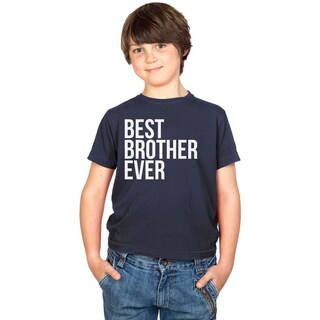 Youth Best Brother Ever Funny Family T shirt for Kids