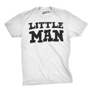 Youth Little Man Funny Shirts Matching Father Son Tees Cute Family Kids Gift Idea T shirt