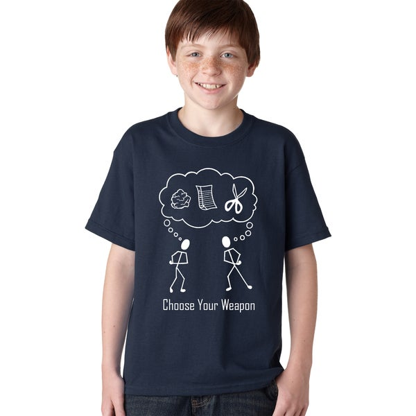fbfbdfbe Shop Youth Choose Your Weapon T-Shirt Rock Paper Scissors Maroon Shirt for  Kids - Free Shipping On Orders Over $45 - Overstock - 18849327