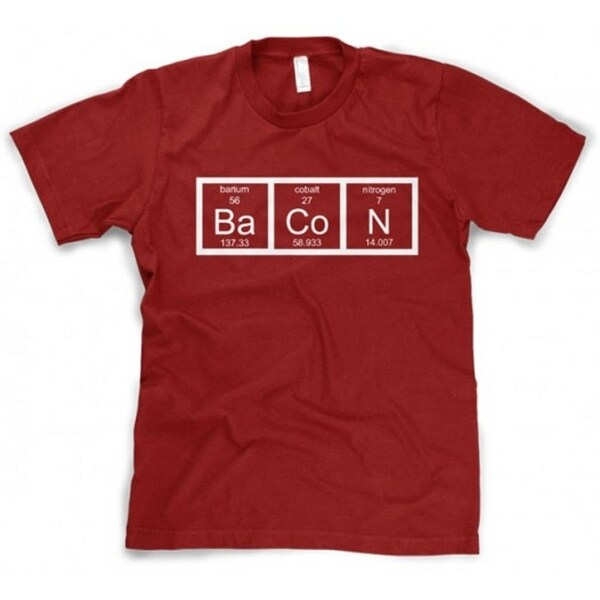 Swell Youth Chemistry Bacon T Shirt Funny Periodic Table Tee For Kids Home Interior And Landscaping Ferensignezvosmurscom