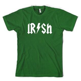 Kids Irish Rockstar Band Logo T Shirt Funny Saint Patricks Day Youth Shirt