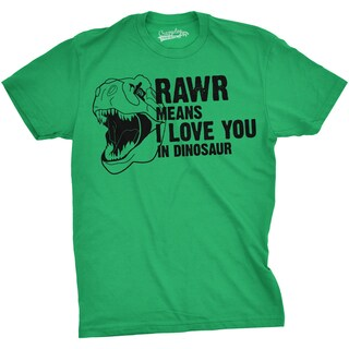 Youth Rawr Means I Love You Tshirt In Dinosaur Funny Prehistoric Dino Fans Tee