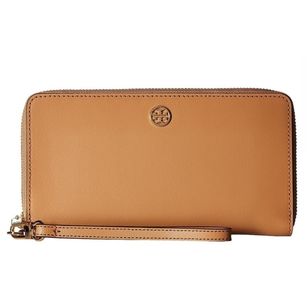 82026ef918a Shop Tory Burch Parker Zip Tory Cardamom Continental Wallet - Free ...