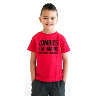Youth Zombies Eat Brains Shirt Funny Zombie T shirts Living Dead Zombie Outbreak Tees