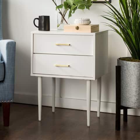 Carson Carrington Notto 20-inch Modern 2-drawer Nightstand