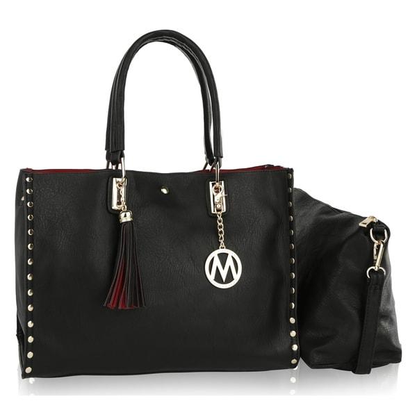 8de29f541054 Shop MKF Collection by Mia K Farrow Isa Satchel Handbag - On Sale ...