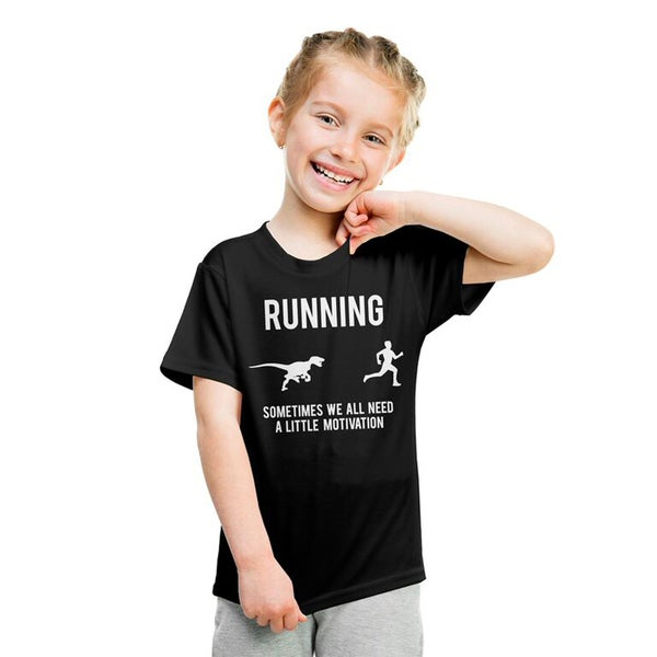 a5a945f6c Youth Running Motivation T shirt Funny Running T shirts Sarcasm Humor Run Novelty  Tees