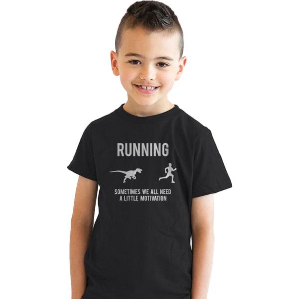 b6fcc1ab Youth Running Motivation T shirt Funny Running T shirts Sarcasm Humor Run  Novelty Tees
