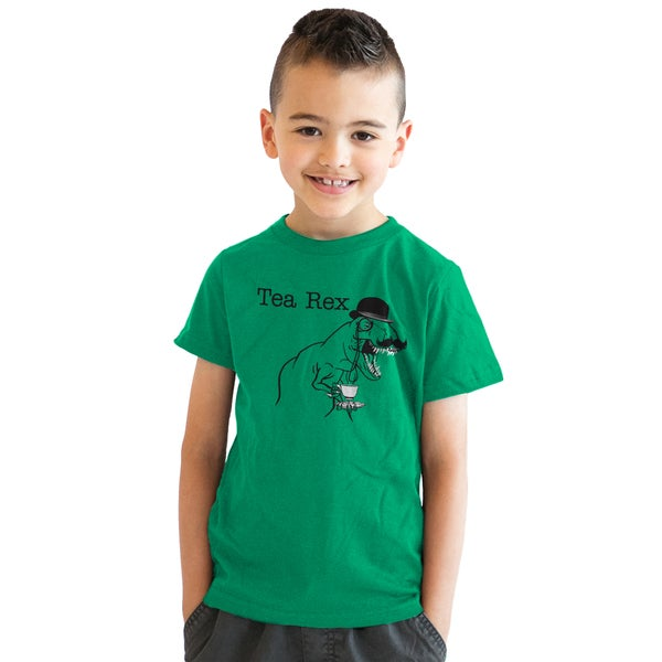 28ca28d7 Shop Youth Tea Rex T-Shirt Funny Dinosaur Gentleman Monicle T-Rex Tee for  Kids - Free Shipping On Orders Over $45 - Overstock - 18849965