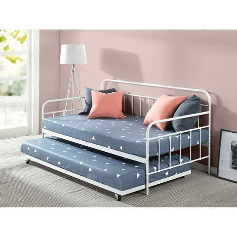 Priage by Zinus Florence Daybed with Trundle