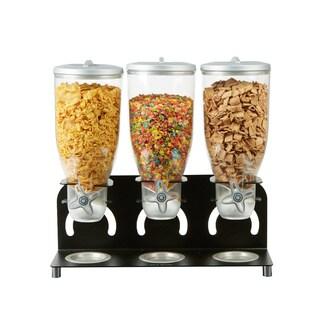 Mind Reader Metal Triple Cereal Dispenser