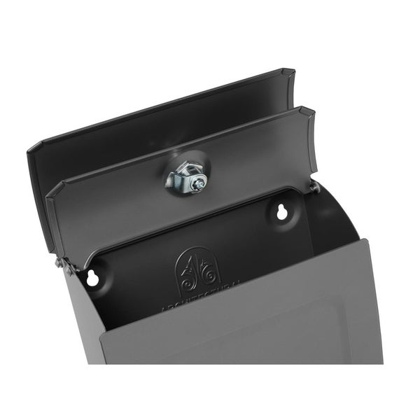 mailboxes aspen locking wall mount mailbox blue free shipping on orders over 45