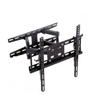 Full Motion Tilt TV Wall Mount Bracket Dual Arm for 32-55'' LCD LED