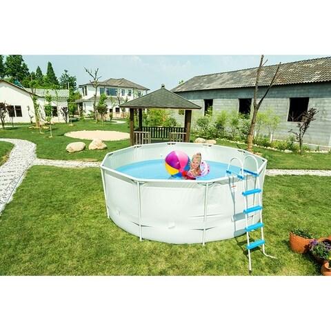 12'/16'/18' Metal Frame Swimming Pool Filter Pump Ladder set