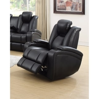 Extraordinary Power Recliner with Adjustable Headrest, Black