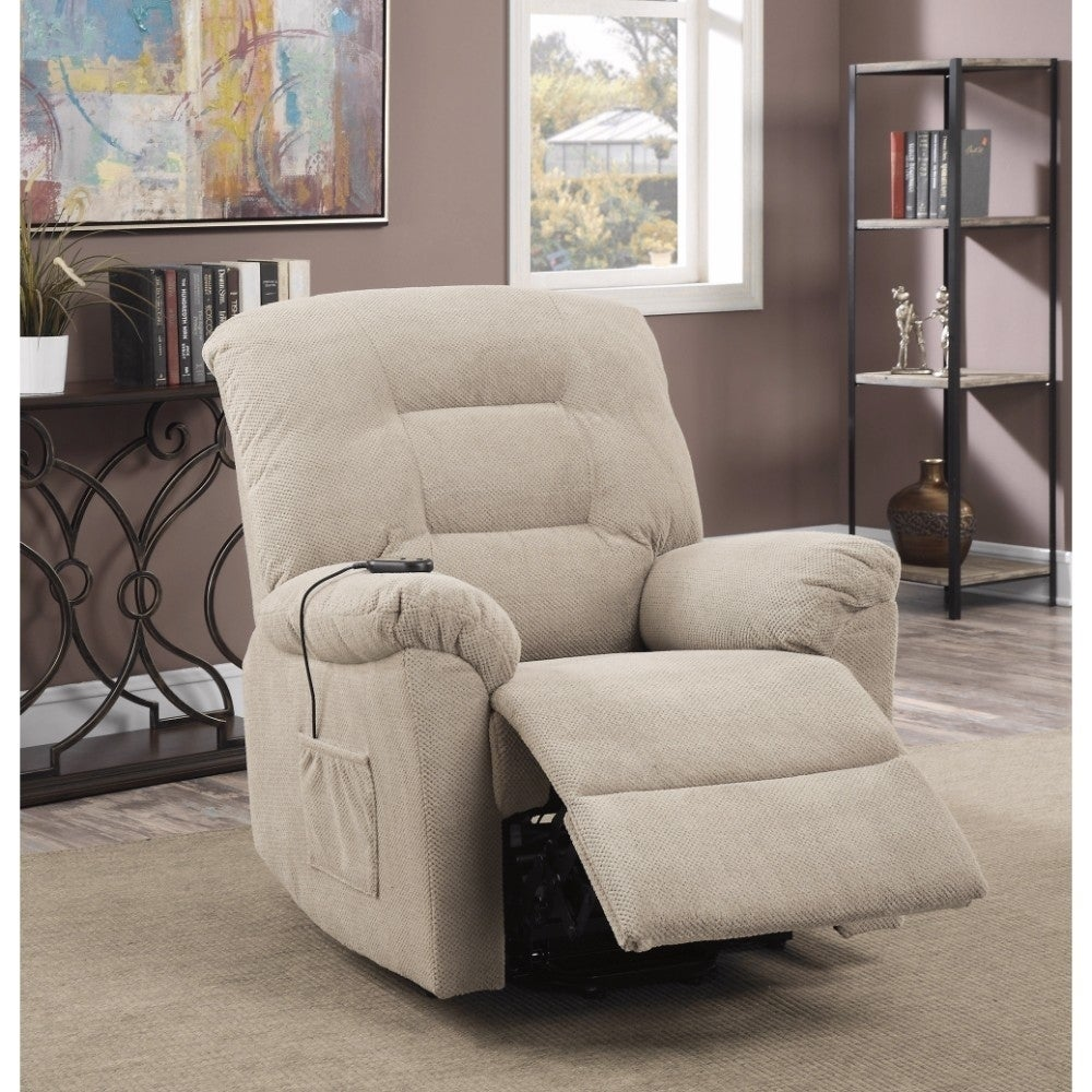 Peachy Amazing Power Lift Recliner With Supreme Comfort Cream Gmtry Best Dining Table And Chair Ideas Images Gmtryco