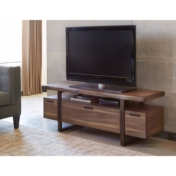 Radiant Low Profile Tv Console Brown