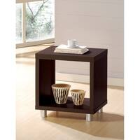 Tustin End Table, Espresso Brown