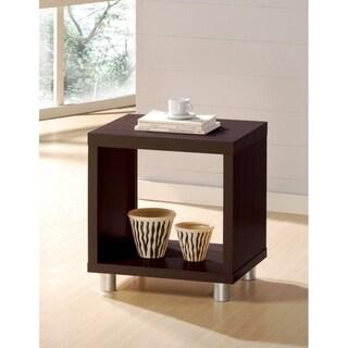 Tustin End Table, Espresso Brown