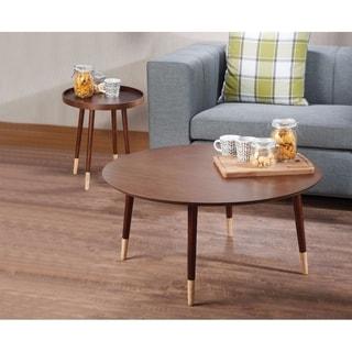 Dein End Table, Walnut Brown
