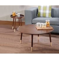 Dein End Table, Walnut Brown