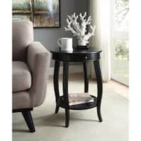 Alysa End Table, Black