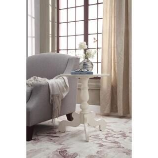 Freida End Table, Antique White