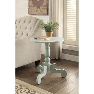 Freida End Table, Antique Green