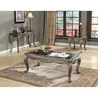 Enchanting Coffee Table With Granite, Black & Brown