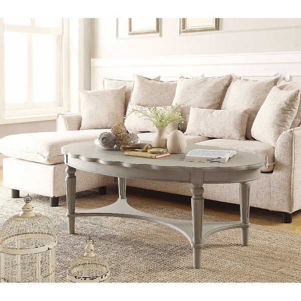 Antique Gray Coffee Tables: Shop Conventional Coffee Table, Antique Gray