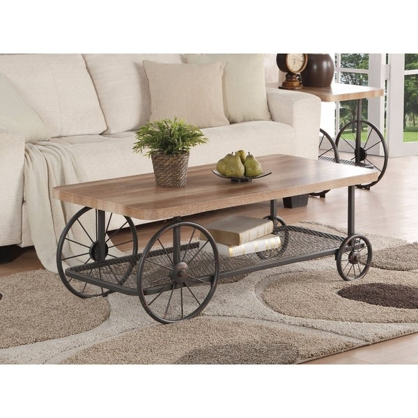 Antique Gray Coffee Tables: Shop Modish Coffee Table, Oak & Antique Gray