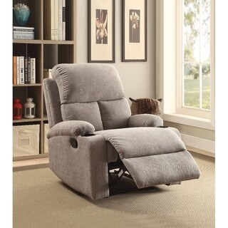 Rosia Homely Recliner , Gray Linen