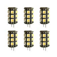 Led g4 outdoor rated, 3000k, 360°, cri80, fcc, 1.8w, 20w equivalent, 30000hrs, lm160, dimmable, input voltage 8-18v ac 6 pack