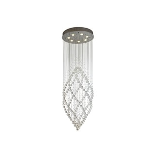 Cascade Crystal Rainfall Chandelier - Chrome