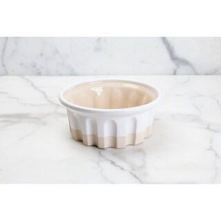 Round Baker, Small, White