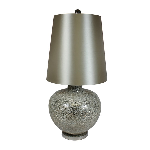 Urban Designs Mosaic Art Glass Oversize Handcrafted Table Lamp