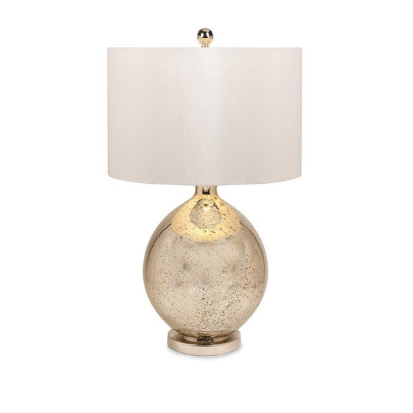 Urban Designs Tara 31-Inch Champagne Mercury Glass Table Lamp