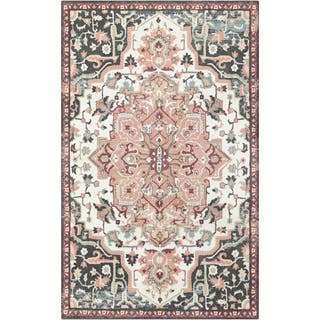 Pink Floral Rugs Amp Area Rugs For Less Find Great Home