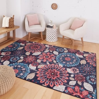Link to Mohawk Home Prismatic Floral Dream Area Rug (5'x8') - 5' x 8' Similar Items in Rugs