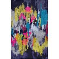 Carbon Loft Bowie Multicolor Abstract Area Rug - 5' x  8'