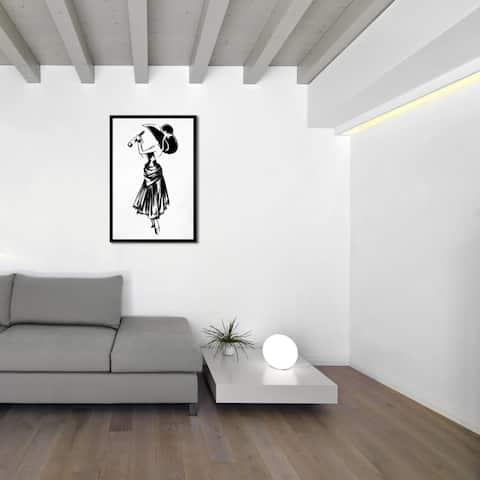 Oliver Gal 'Champagne Celebration' Framed Art