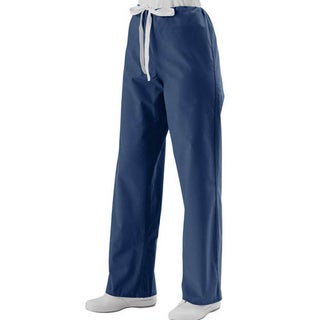 Medline Unisex Reversible Navy Drawstring Scrub Pants (4 options available)