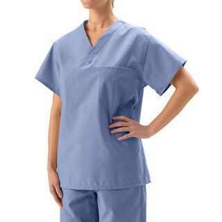 Medline Unisex Reversible Ciel Scrub Top|https://ak1.ostkcdn.com/images/products/1888405/P10215936.jpg?_ostk_perf_=percv&impolicy=medium