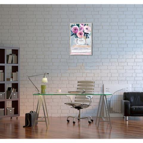 Oliver Gal 'Fresh Cut Flowers' Framed Canvas Art