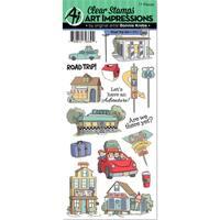 Art Impressions Clear Stamp Set