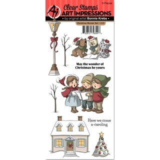 Art Impressions Clear Stamp Set