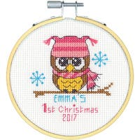 """Dimensions Counted Cross Stitch Kit 4"""""""