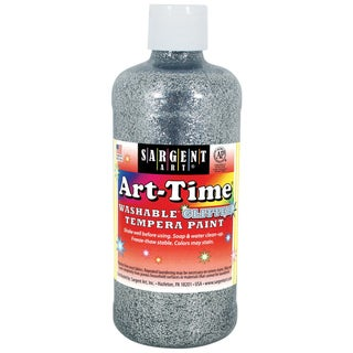 Washable Art-Time(R) Glitter Tempera Paint 16oz